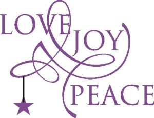 Peace, Love and Joy!