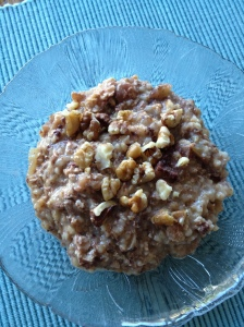 Slow Cooker Apple Steel-Cut Oats