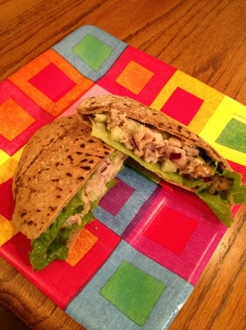 White Bean and Tuna Pitas