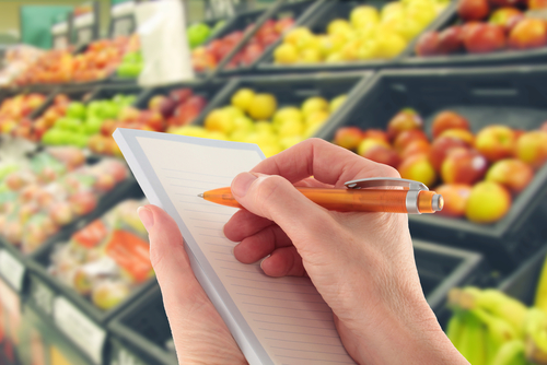 Grocery Shopping List | Creating a Healthy Lifestyle